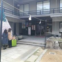 生田神社会館の別入口