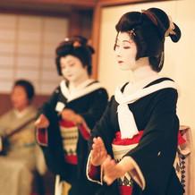 濱田家さんの芸者さんの舞
