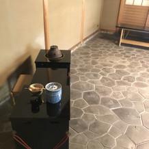 待合のお茶室