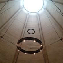 チャペルの天窓