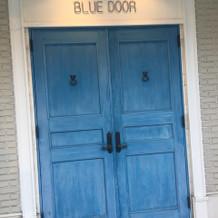 ブルードア邸のドア