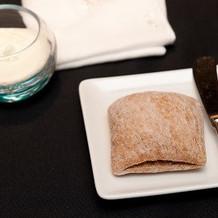 パンとホイップバター