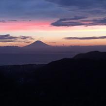 夕焼け 富士山♩