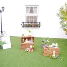 ガーデン一部
