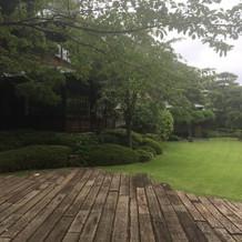 庭園の様子を違う角度から。