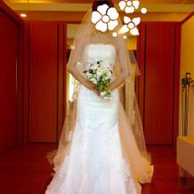 ウエディングドレス マーメイド