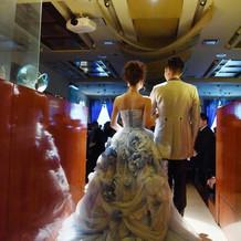 結婚式のテーマ「シンデレラ」を意識して!