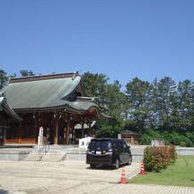 護国神社です!外観