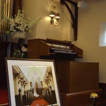 オルガンでの演奏も可能。