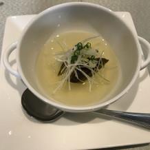フォアグラと大根のスープが絶品でした