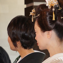 地毛結いで日本髪をしていただきました!
