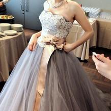 とても上品なドレスで大変気に入りました。