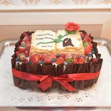 オリジナル ウェディングケーキ