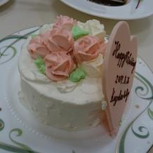とても美味しいケーキ♪