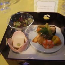 日本料理前菜