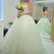アンテプリマカラードレス