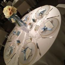 ゲストテーブル フルコース試食会