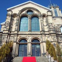 教会の大階段