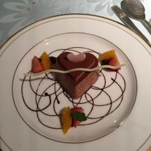 なかにラズベリーが入ってて美味しかった!