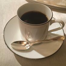 試食コーヒー
