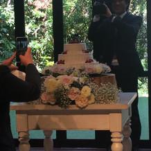 ケーキも可愛い
