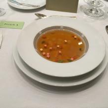 Aコーススープ