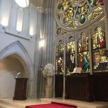 大聖堂のチャペル