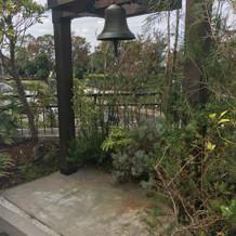 チャペル横の鐘
