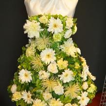 花ドレス これなにげにすごい!