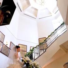 螺旋階段、お気に入りです。