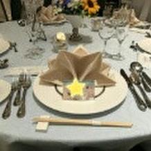 当日のゲストテーブル