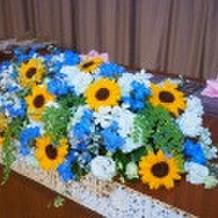 当日のメイン装花