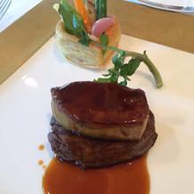 ロッシーニのお肉は柔らかいです。