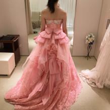 可愛いピンクスエラ