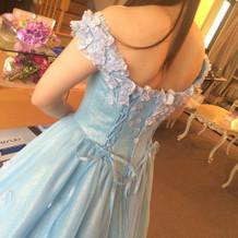 まるでシンデレラなドレス