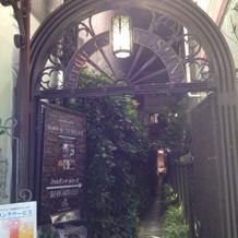竹下通りからの入り口