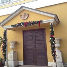 クリスマスシーズンの装飾