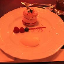 シンプルで美味しいデザート