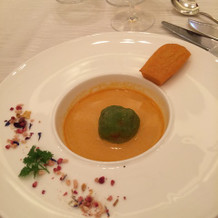スープとフィナンシェみたいなもの。