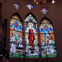 教会のステンドグラス