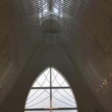 天井もとても高くてよかったです。