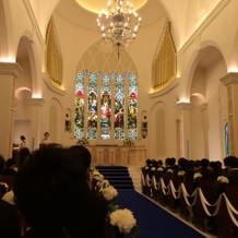 とてもきれいな教会式