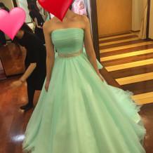 ミントドレス