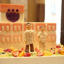 イメージ通りのケーキを作って頂いた