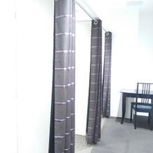ゲスト用の更衣室