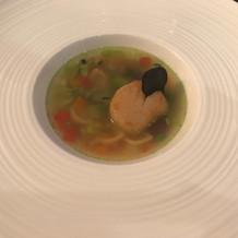 ホタテのスープ