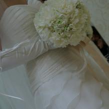 綺麗なウェディングドレス