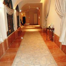 チャペル真の回廊