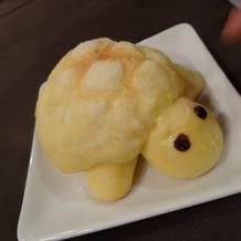 キッズプレートのメロンパン
