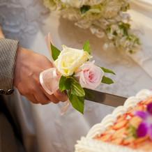 ナイフの装花